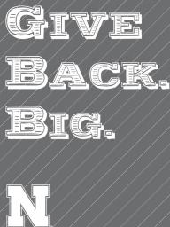 Give Back. Big. has provided grants to student organizations since 2011.