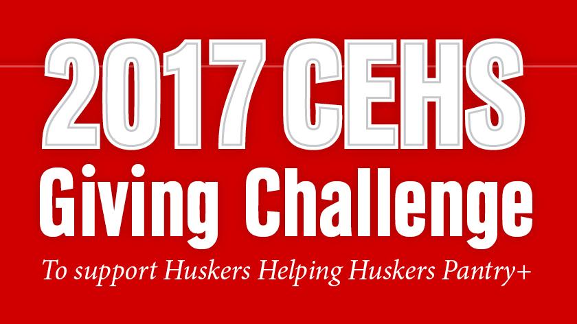 CEHS Giving Challenge runs through Dec. 15.