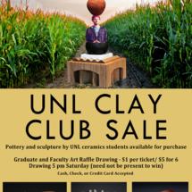 UNL Clay Club Sale