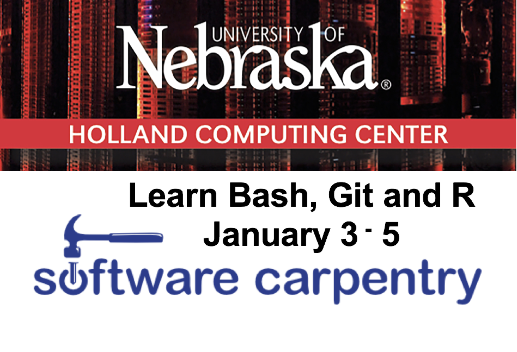 Since 1998, Software Carpentry has been teaching researchers the computing skills they need to get more done in less time and with less pain.