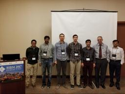 William Poehlman, Jiang Shu, Kan Liu, Aditya Immaneni, Rohita Sinha. Don Krieger, Mohammadhossein Saadatzi presented at BIOSG 17