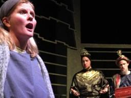 "The Glenn Korff School of Music's opera program presented ""Amahl and the Night Visitors"" in December."