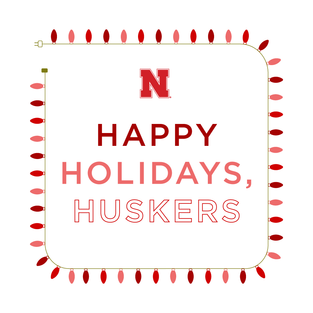 Happy Holidays, Huskers