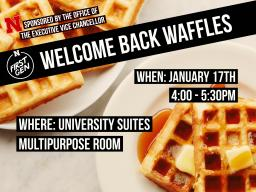 First Gen Nebraska: Welcome Back Waffles