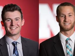 TAs for 2017-18 Nick St. Onge and Cordell Weber