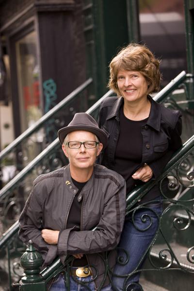 Greta Olafsdottir and Susan Muska