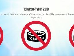 The university will go tobacco free on Jan. 1, 2018. | Courtesy image