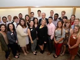 Second Cohort of Clifton Builders with Gallup Chairman and CEO Jim Clifton (center, middle row).