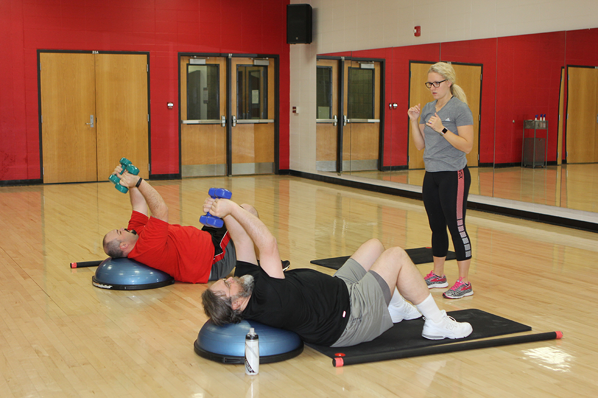 The next session of Fit + Fueled begins Jan. 22.