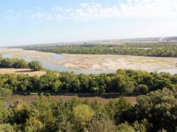 A view of the Platte River during the 2012 drought. | Nicole Wall, National Drought Mitigation Center
