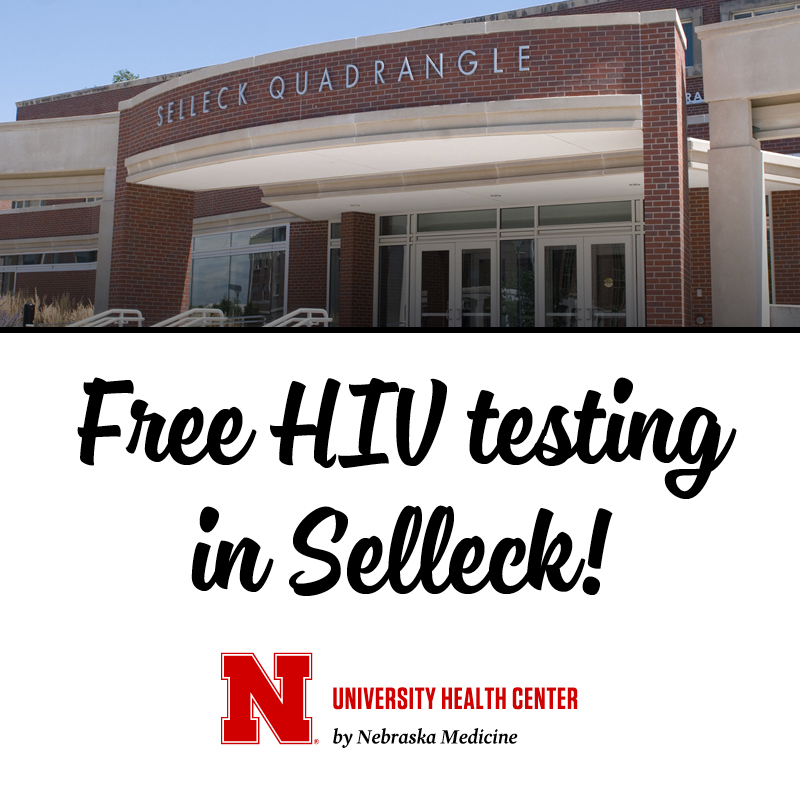 The HIV test site in Selleck is open every Monday and Thursday during the academic year.