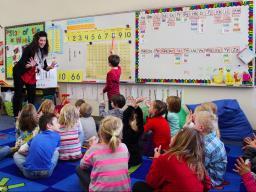 Kristy Kennedy of Kloefkorn Elementary