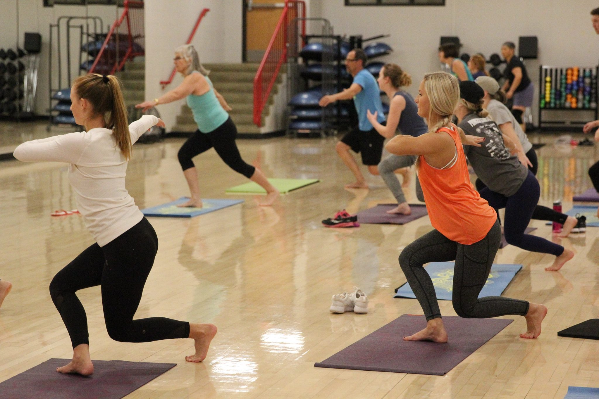Now's a great time to try a new fitness class you've been curious about.