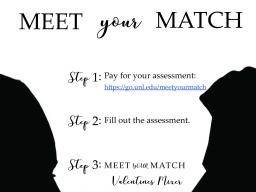 Meet Your Match this Valentine's Day