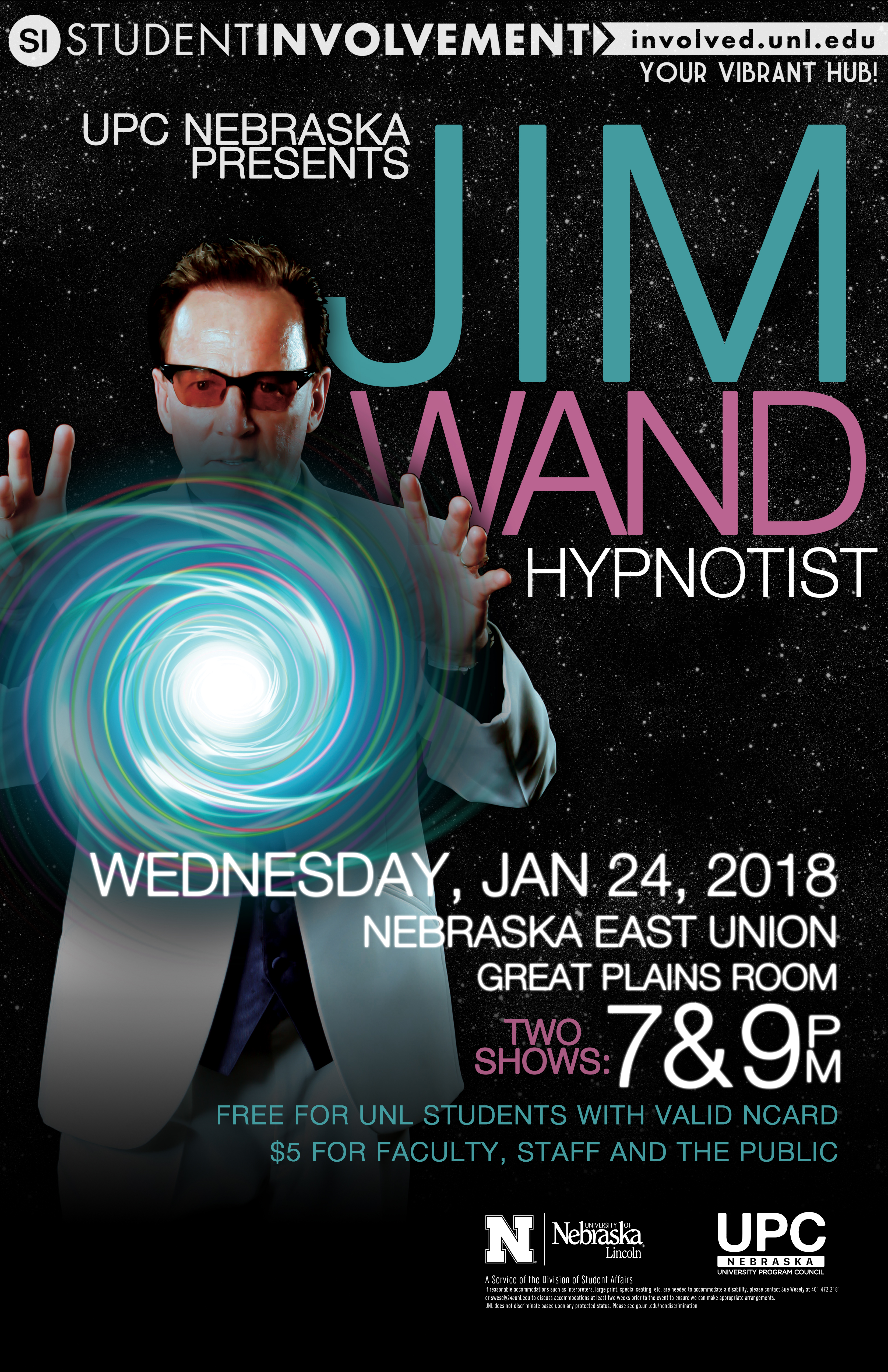 Dr. Jim Wand is coming to campus! Don't miss out!