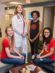 Students paying student fees receive many free benefits from the University Health Center.