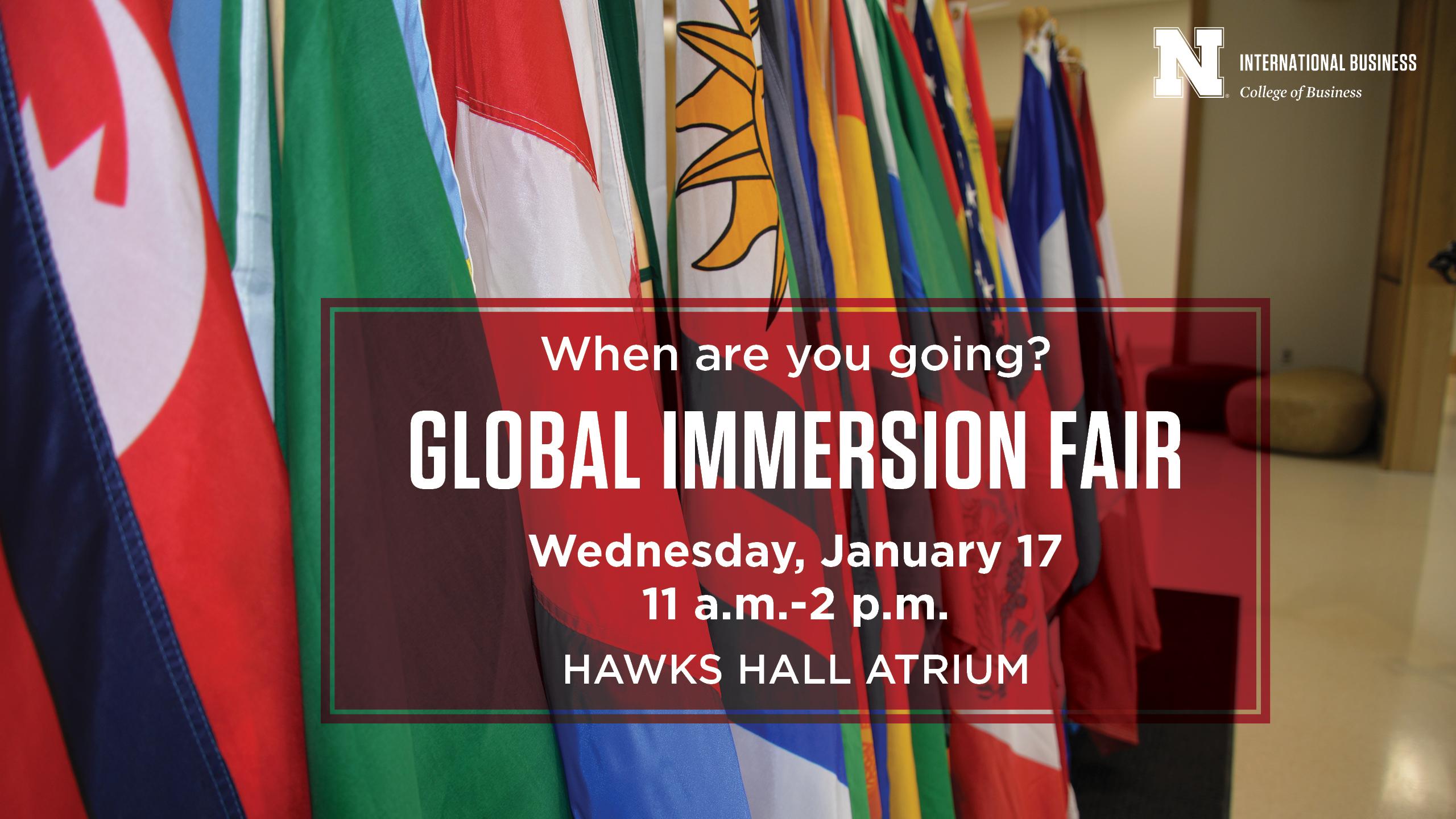 Global Immersion Fair Announce University Of Nebraska