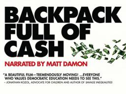 """""""Backpack Full of Cash"""" will be screened at 12:30 p.m. Feb. 2 in TEAC 105."""