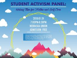 Student Activism Panle: Making Tim for Activism and Self Care