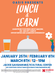 Lunch & Learn flier spring 2018
