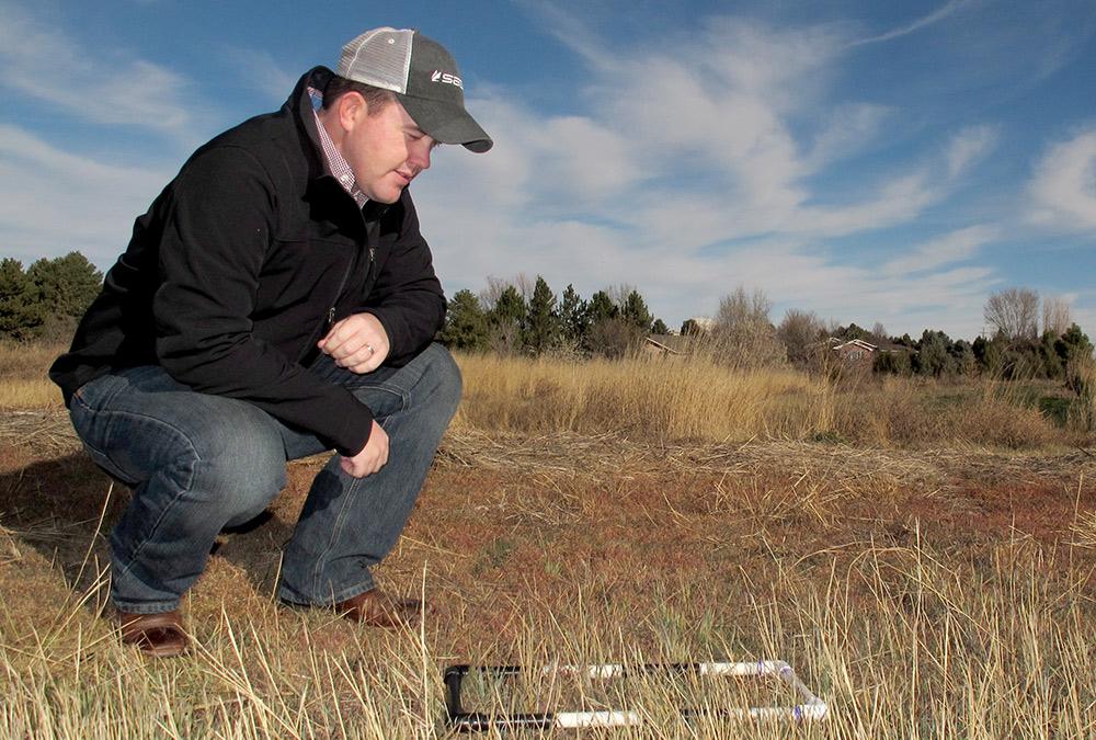 Mitch Stephenson | Photo courtesy of David Ostdiek – Panhandle Research & Extension Center