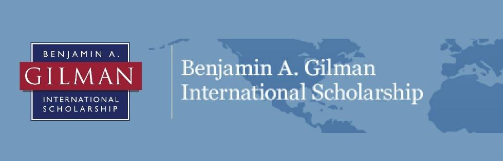 Benjamin A. Gilman International Scholarship to Study Abroad