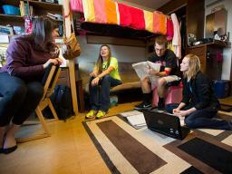Students in a University of Nebraska–Lincoln Learning Community.