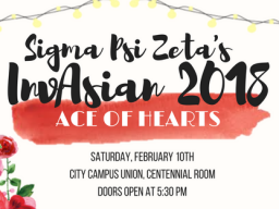 Sigma Psi Zeta's InvAsian 2018: Ace of Hearts