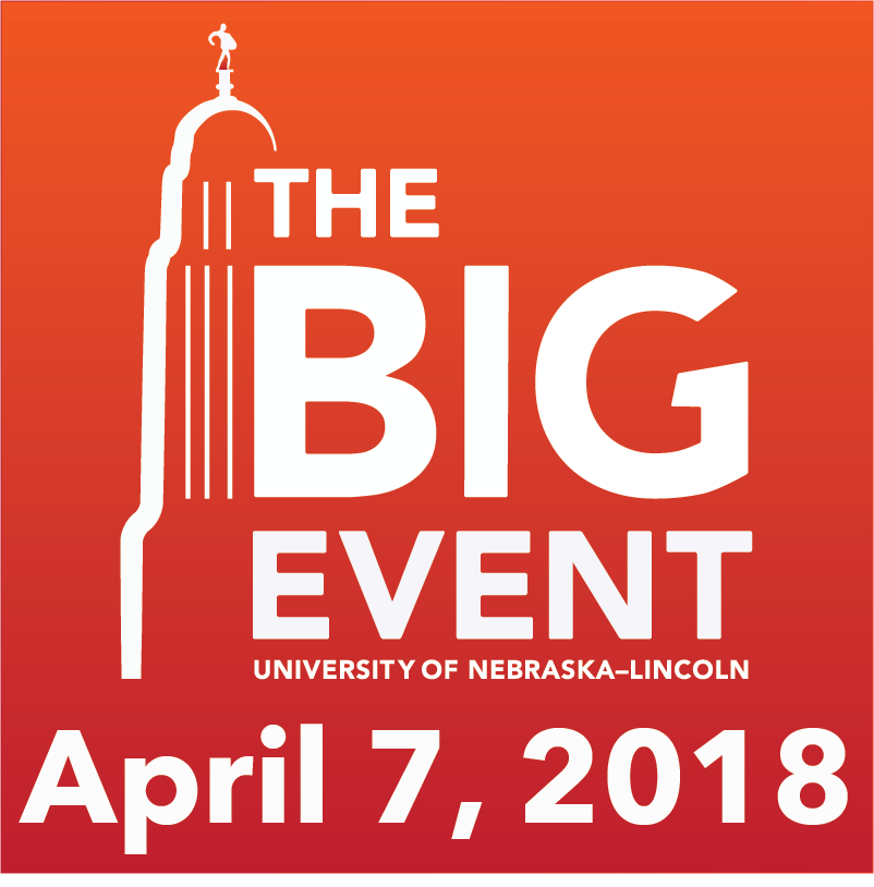 The Big Event - UNL Logo