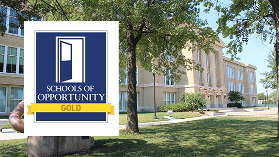Lincoln High School is a new School of Opportunity, awarded by the National Education Policy Center at the University of Colorado Boulder. Photo courtesy of Lincoln Public Schools.