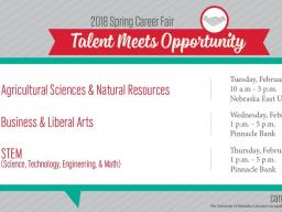 Career Fair Dates