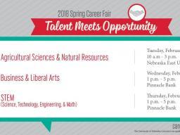 Career Fair Dates