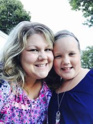 Becky & daughter