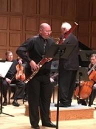 Dr. Jefferson Campbell, bassoonist