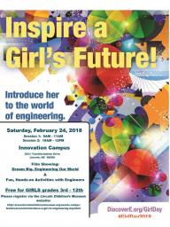 """""""Introduce a Girl to Engineering Day"""""""