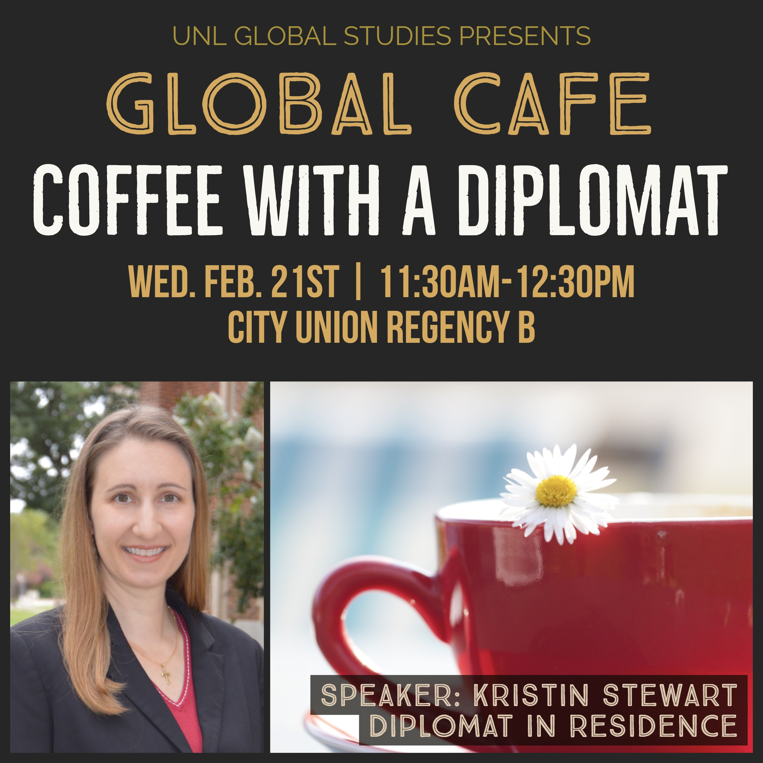 Global Cafe: Coffee with a Diplomat
