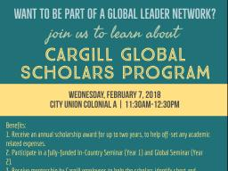 Become a part of a Global Leader Network