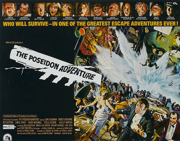 "Sheldon Museum of Art will screen ""The Poseidon Adventure"" February 15."
