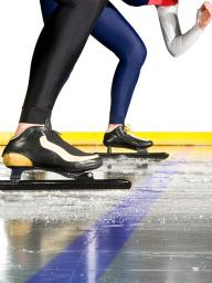 Speed skaters thrived with family support and local facilities.