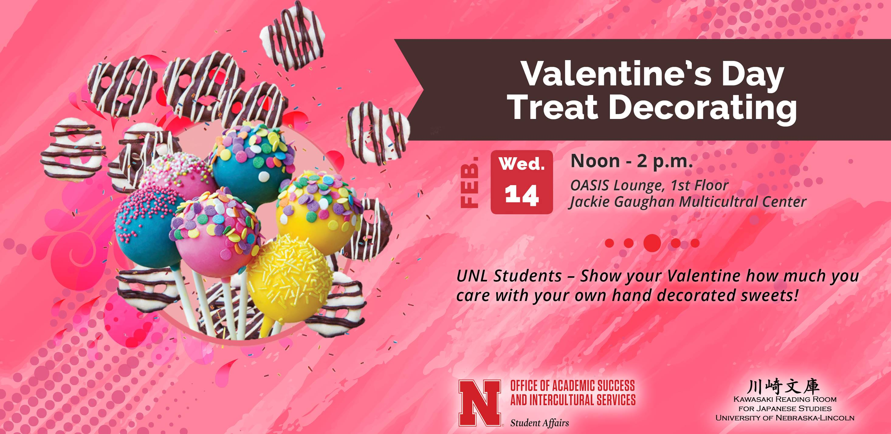 Valentine's Day Treat Decorating Flier