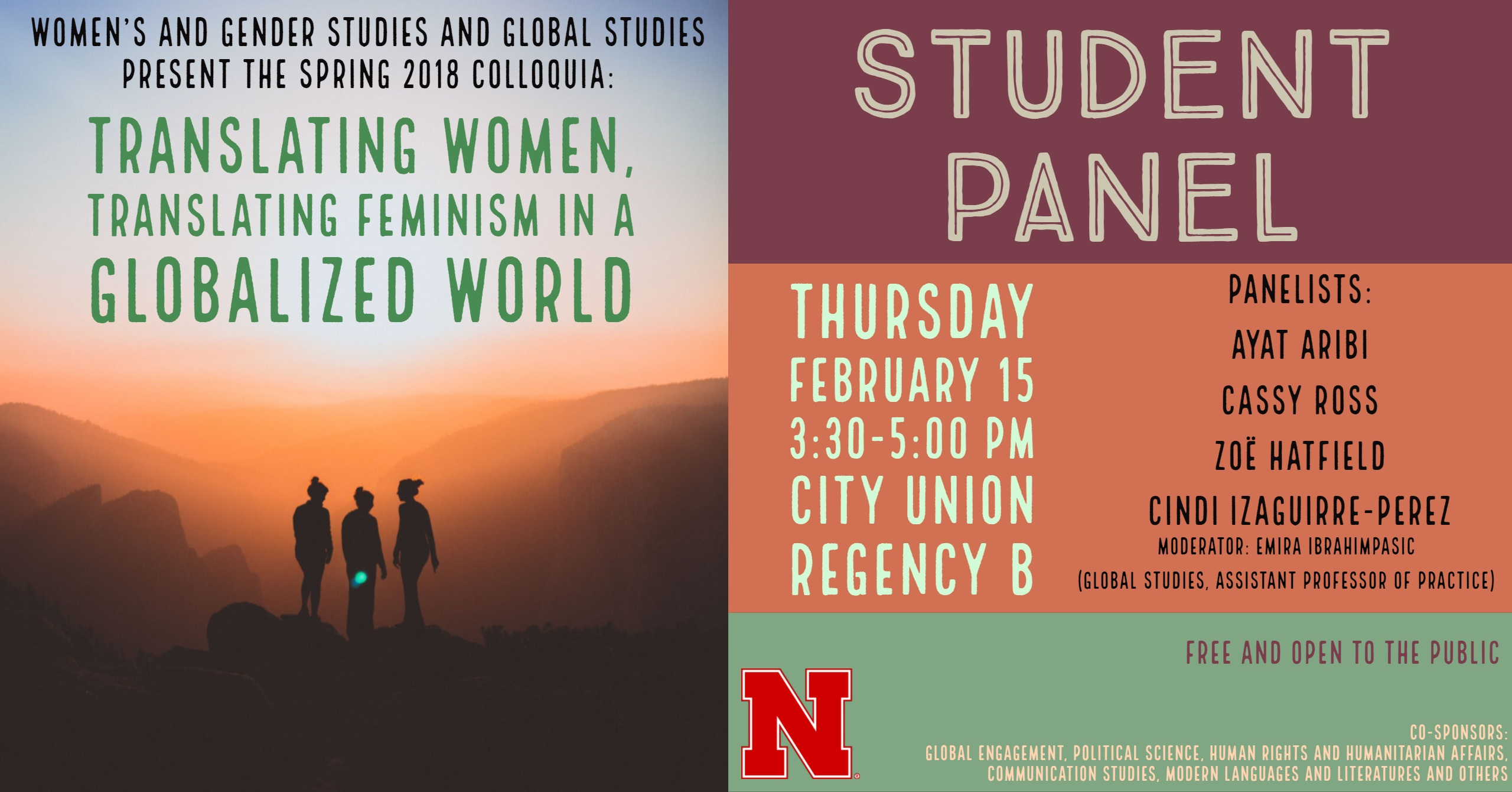 Student Panel: Translating Women, Translating Feminism in a Globalized World