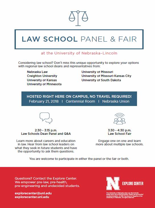 Law School Panel and Fair