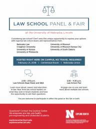 Law School Panel and Fair