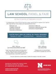 Law School Panel & Fair