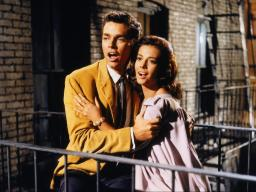 "Natalie Wood and Richard Beymer in ""West Side Story."""