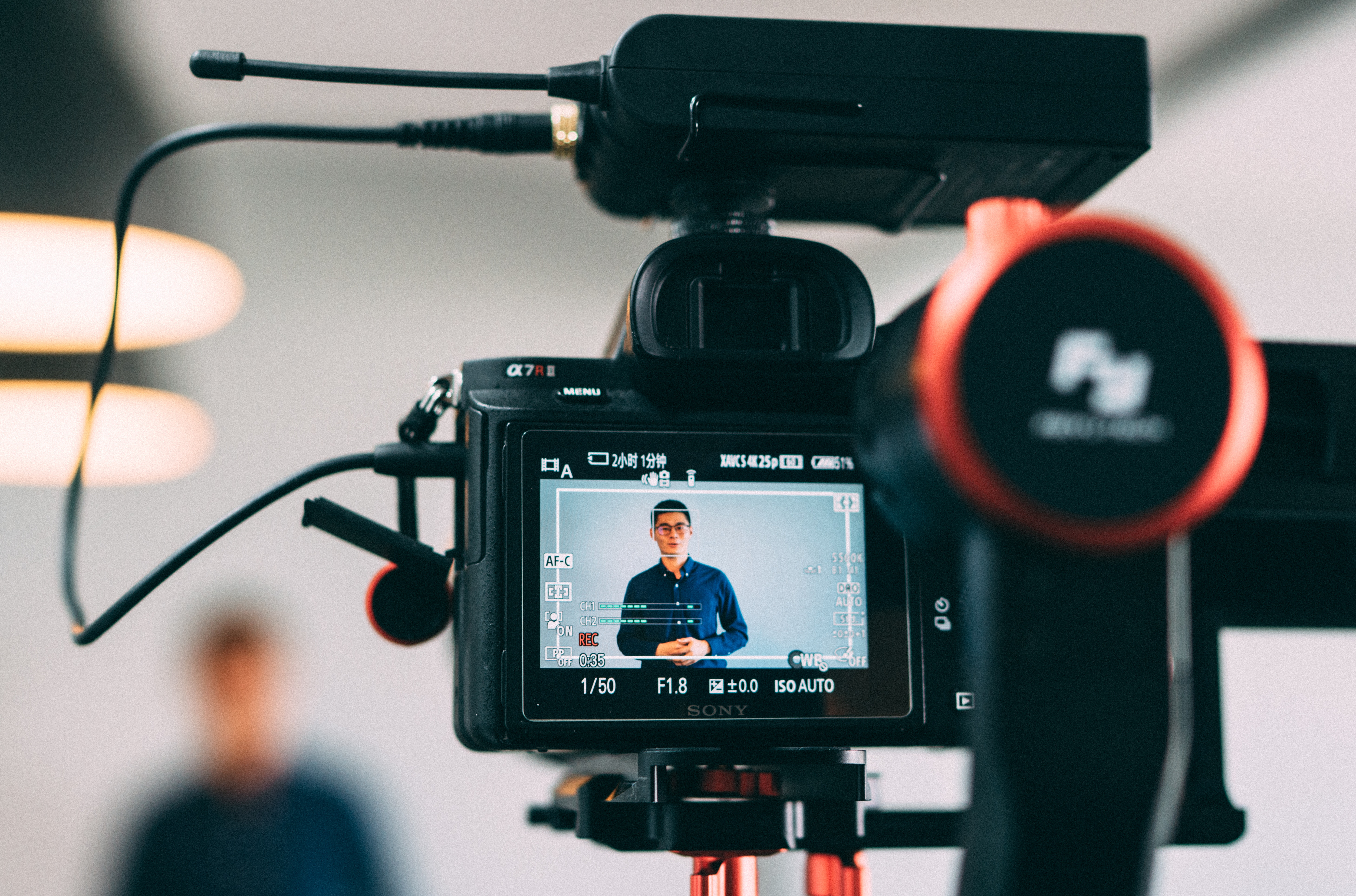 Filming a presentation can help you review your presentation.