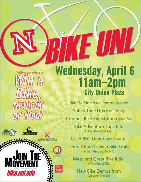 BIKE UNL event poster