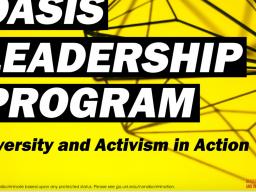Oasis Leadership Program