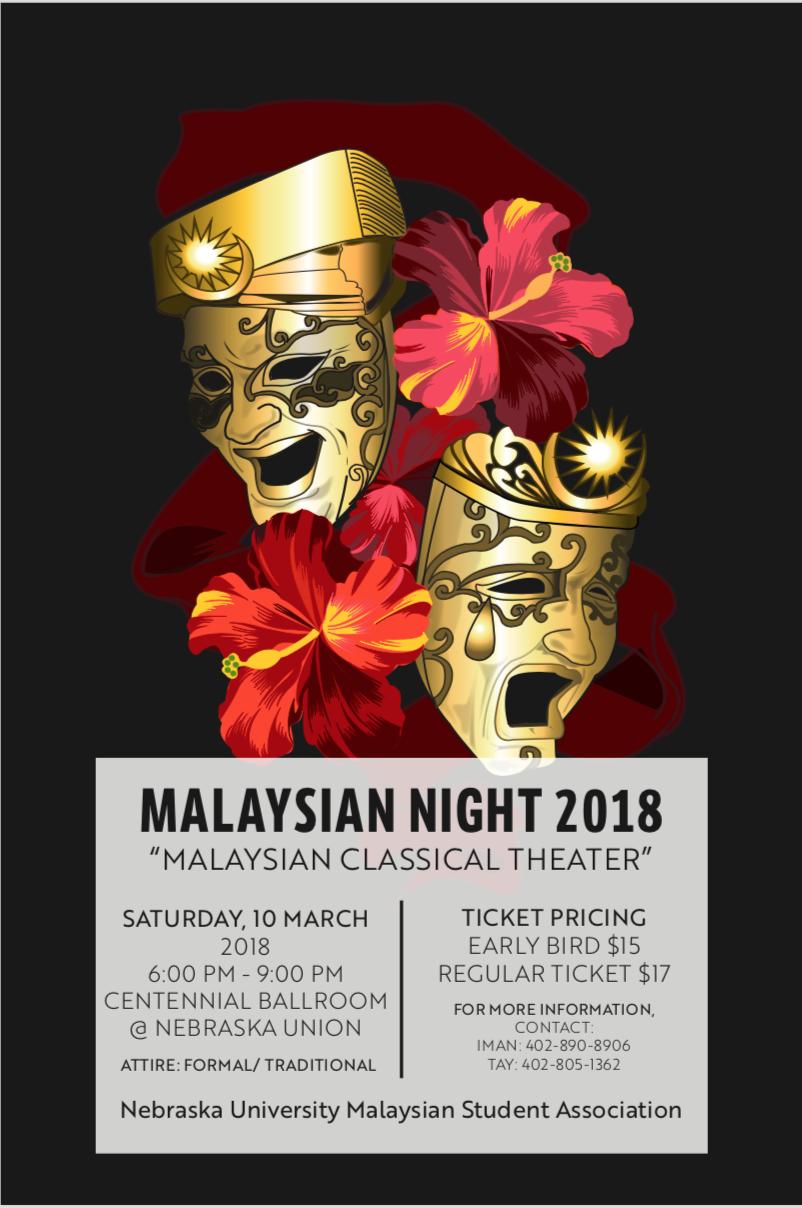 Malaysian Night 2018: https://www.facebook.com/events/151409178994991/