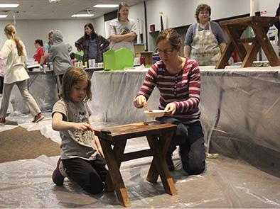 2017 Furniture Painting Workshop